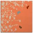 rug #713101 | square orange popular rug