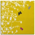 rug #713205 | square yellow graphic rug