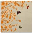 rug #713221 | square beige graphic rug