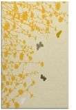 rug #713897 |  yellow graphic rug