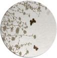 rug #713961 | round beige popular rug