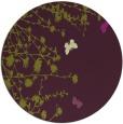 rug #714189 | round purple graphic rug