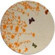 rug #714277 | round beige natural rug