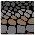 rug #714673 | square black circles rug