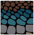 rug #714681   square brown circles rug