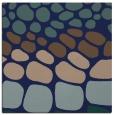 rug #714697 | square blue circles rug