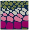 rug #714701 | square green retro rug