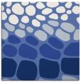 rug #714705 | square blue circles rug