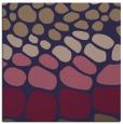 rug #714773 | square beige circles rug