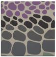 rug #714845 | square purple circles rug