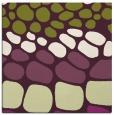 rug #714893 | square purple circles rug
