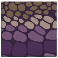 rug #714897 | square purple circles rug