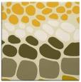 rug #714953   square yellow circles rug
