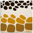 rug #714961 | square brown retro rug