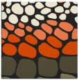 rug #714973   square black circles rug