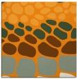 rug #715009 | square light-orange circles rug