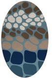 rug #715042   oval circles rug