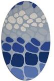 rug #715059 | oval circles rug