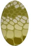 rug #715340 | oval retro rug