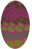 rug #715348 | oval circles rug