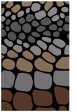 rug #715377 |  black circles rug