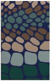 rug #715401 |  blue circles rug