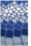 rug #715409 |  blue circles rug