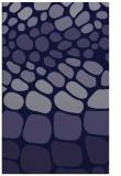 rug #715453 |  blue-violet circles rug