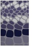 rug #715457 |  blue-violet circles rug
