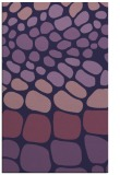 rug #715465 |  purple retro rug