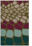 rug #715489 |  brown retro rug
