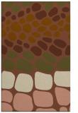 rug #715513 |  brown retro rug