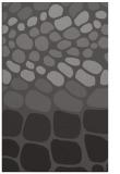 rug #715517 |  mid-brown retro rug