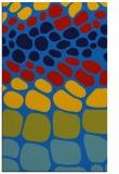 rug #715537 |  blue circles rug