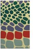 rug #715573 |  yellow circles rug