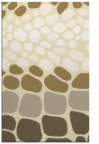 rug #715661 |  yellow retro rug