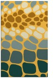 rug #715673 |  yellow circles rug