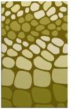 rug #715689 |  light-green retro rug