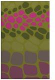 rug #715697 |  light-green retro rug