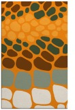 rug #715713 |  light-orange circles rug
