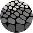 rug #715725   round white retro rug