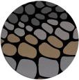 rug #715729 | round black circles rug