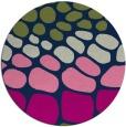 rug #715757   round blue circles rug