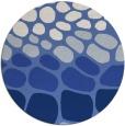 rug #715761 | round blue circles rug