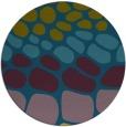 rug #715781 | round green popular rug