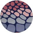 rug #715813   round blue-violet retro rug