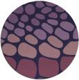 rug #715817 | round purple rug