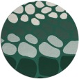 rug #715853 | round green circles rug