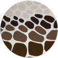 rug #715864 | round retro rug