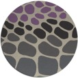rug #715901   round purple circles rug